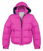 stock photo of outerwear  - pink jacket - JPG