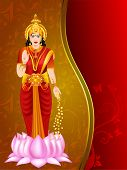 pic of shakti  - Illustration of Hindu goddess Laxmi - JPG