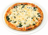 stock photo of popeye  - Pizza Popeye the sailor with cheese - JPG
