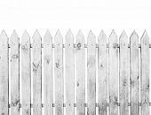 image of household farm  - The fence isolated on a white background - JPG