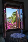image of gumbet  - Beautiful view from famous a Bodrum House at Bodrum - JPG