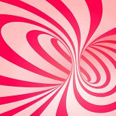 foto of twist  - Candy cane sweet spiral abstract background - JPG