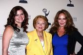 Heather Tom, Lee Phillip Bell and Catherine Bach at the Daytime Emmy Nominees Reception presented by