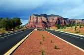 Landscape Of Cathedral Rock At Sedona Arizona