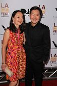 Ken Jeong and Tran Ho at