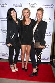 Bree Cuoco, Ashley Jones and Kaley Cuoco at the