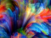 stock photo of creativity  - Colors In Bloom series - JPG