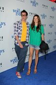 Johnny Knoxville and Naomi Nelson at