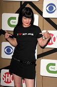 Pauley Perrette at the CBS, Showtime, CW 2013 TCA Summer Stars Party, Beverly Hilton Hotel, Beverly