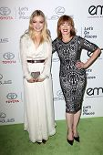 Francesca Eastwood and Frances Fisher at the 23rd Annual Environmental Media Awards, Warner Brothers