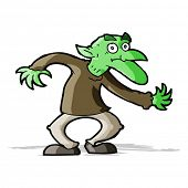 foto of goblin  - cartoon goblin - JPG