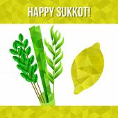 picture of sukkot  - Four species  - JPG