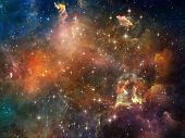stock photo of metaphysical  - Once Upon a Space series - JPG