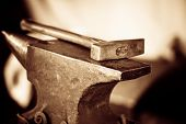 foto of blacksmith shop  - Tools  - JPG