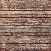 foto of red siding  - Old gray wooden wall with damaged red paint layer seamless square background photo texture - JPG