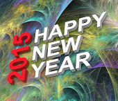 foto of fractals  - Happy New Year 2015 - JPG