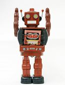 image of robot  - reto robot toy  - JPG