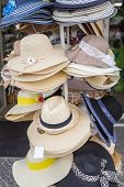 picture of panama hat  - Set of summer hats for sale - JPG