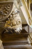 pic of gargoyles  - A  Gargoyle at Kronborg Castle Helsingor Denmark - JPG