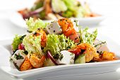picture of lenten  - Salad with Seafood - JPG