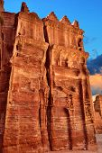 picture of petra jordan  - Tombs that are called  - JPG