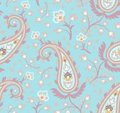 picture of teardrop  - Seamless pattern based on traditional Asian elements Paisley - JPG