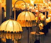 pic of lamp shade  - Table luxury lamp - JPG