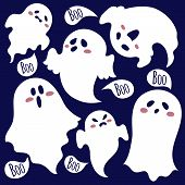 stock photo of funny ghost  - The kindest ghost - JPG