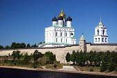 Pskov. The Kremlin. poster
