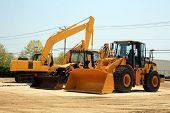 image of heavy equipment operator  - construction equipment - JPG