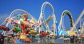 foto of carnival ride  - Amusement park rides - JPG