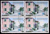 Four 35-cent Stamps Printed In The Bahamas