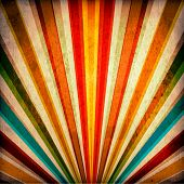 stock photo of rock star  - Multicolor Sunbeams grunge background - JPG
