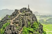 Hang Mua Viewpoint At Trang An Scenic Area Near Ninh Binh, Vietnam poster