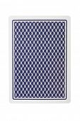 picture of playing card  - Playing card from back - JPG