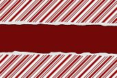 foto of candy cane border  - Christmas Candy Cane Striped background for your message or invitation with copy - JPG