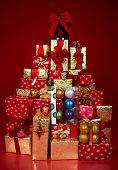 foto of christmas-present  - Christmas Presents and Gifts - JPG
