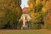 foto of munich residence  - Bamberger House in the Luitpoldpark Munich Germany - JPG