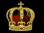 picture of crown jewels  - Royal Crown with Jewels  - JPG