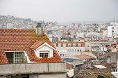 ������, ������: Vigo Galicia On Rainy Day