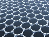 picture of graphene  - Graphene layer structure model - JPG