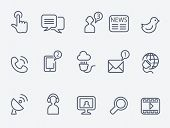 pic of antenna  - Communication icons - JPG