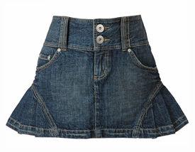 foto of jeans skirt  - jeans skirt - JPG