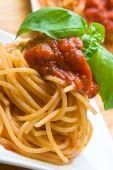 Fresh Spaghetti With Tomato Sauce poster