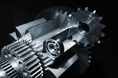 picture of titanium  - engineering gears and parts - JPG