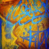 pic of graffiti  - graffiti paint background  - JPG