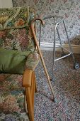 stock photo of zimmer frame  - Chair - JPG