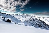 picture of luge  - Alps - JPG