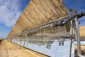 Renewable Energy Parabolic Trough Solar Mirror Panels