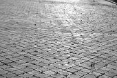 picture of paving stone  - The photo of paving stone - JPG